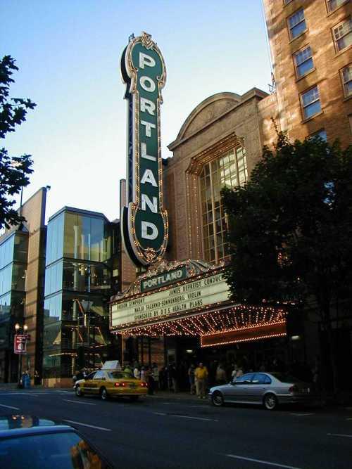 Resultado de imagen de theatres in portland