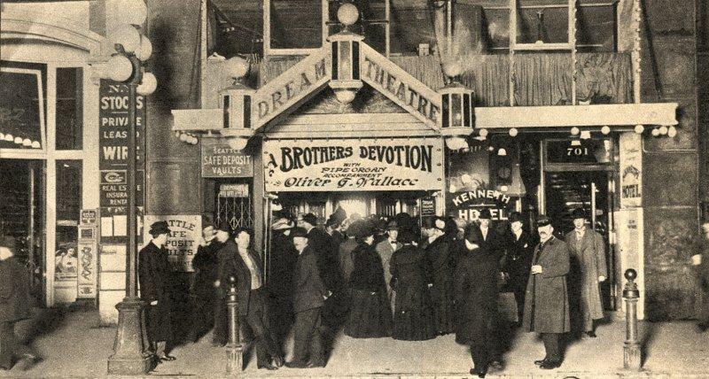 pstos dream theatre seattle washington